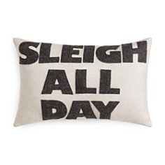 """Alexandra Ferguson Sleigh All Day Decorative Pillow, 12"""" x 18"""" - 100% Exclusive - Bloomingdale's_0"""