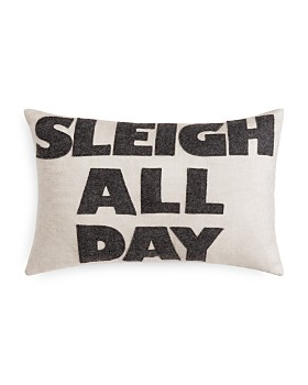 "Alexandra Ferguson - Sleigh All Day Decorative Pillow, 12"" x 18"" - 100% Exclusive"