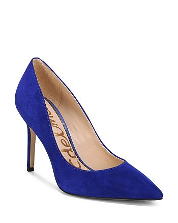 Sam Edelman - Women's Hazel Suede High-Heel Pumps