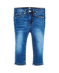 7 For All Mankind - Boys' Medium-Wash Slim Straight-Leg Jeans - Baby