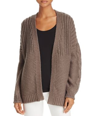 Beltaine Mixed-Knit Open Cardigan - 100% Exclusive