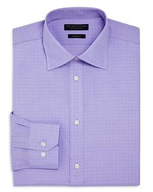 The Men's Store at Bloomingdale's Mini Glen Plaid Regular Fit Dress Shirt - 100% Exclusive