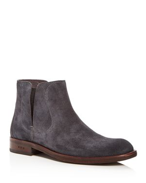 John Varvatos Star Usa Men's Waverly Covered Suede Chelsea Boots