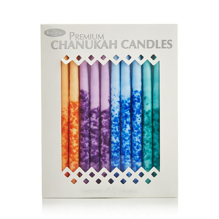 Rite Lite - Premium Chanukah Candles, Multicolor