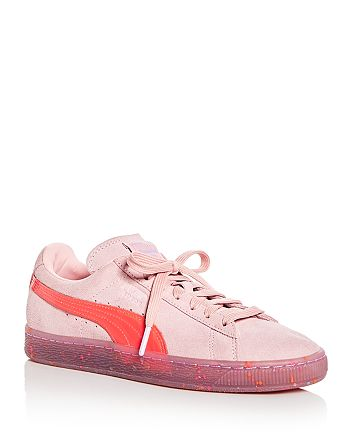 PUMA - x Sophia Webster Women's Suede Lace Up Sneakers