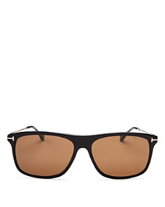 Tom Ford - Men's Max Square Sunglasses, 57mm