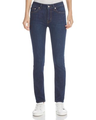 DEVI MID-RISE AUTHENTIC SKINNY JEANS IN DARK WASH