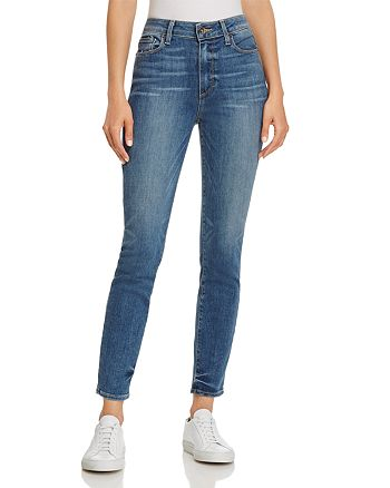 PAIGE - Hoxton Ankle Skinny Jeans in Kenway - 100% Exclusive