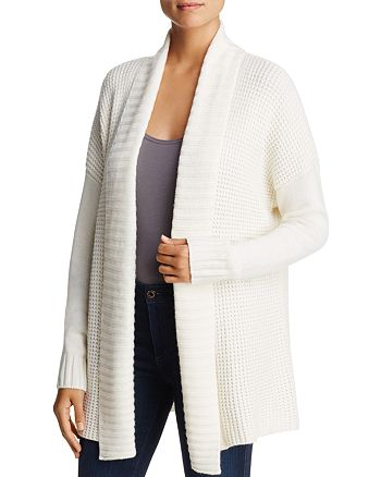 Three Dots - Open Front Cardigan