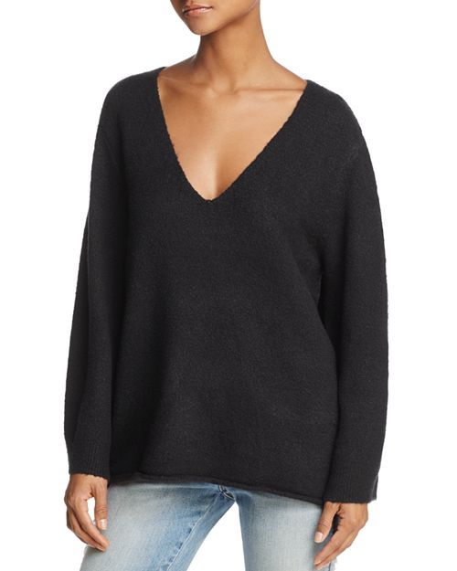 FRENCH CONNECTION - Urban Flossy Slouchy Flared-Sleeve Sweater