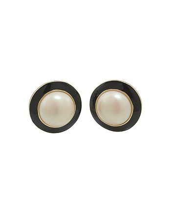 Carolee - Circle Clip-On Earrings