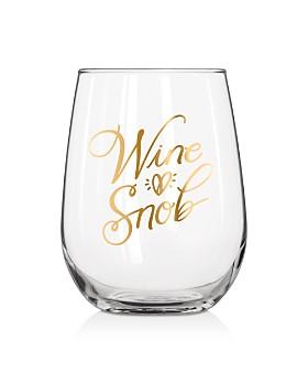 Easy Tiger - Wine Snob Stemless Wine Glass