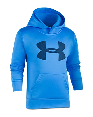 Under Armour Boys' Big Logo Hoodie - Little Kid