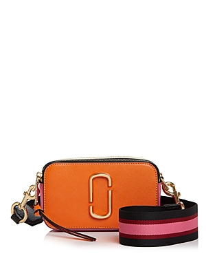 Marc Jacobs Snapshot Color Block Leather Camera Bag