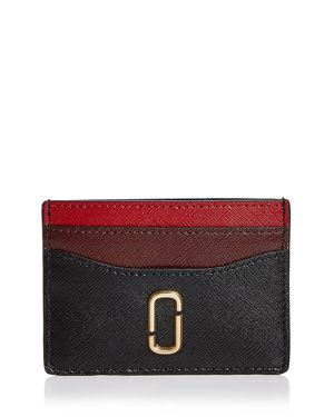 Marc Jacobs Snapshot Color-Block Leather Card Case 3028832