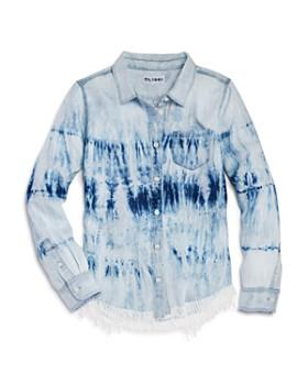 DL1961 - Girls' Frayed Tie-Dye Shirt - Big Kid
