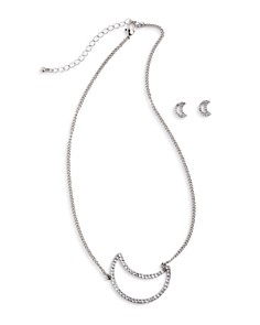 Capelli Girls' Moon Necklace & Earrings Set - Bloomingdale's_0