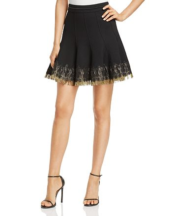 Elie Tahari - Christina Embellished Skirt