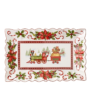 Villeroy & Boch Toy's Fantasy Rectangular Cake Plate, Train