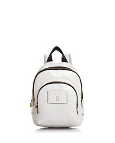 MARC JACOBS - Double Pack Mini Leather Backpack