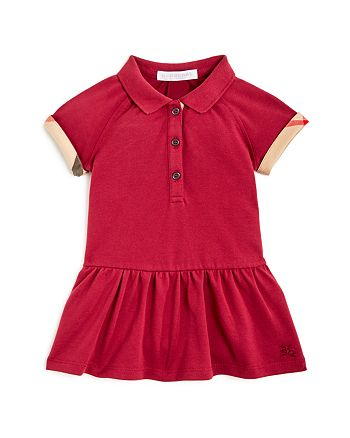 Burberry - Girls' Mini Calin Drop-Waist Dress - Baby