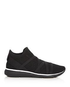 Eileen Fisher - Women's Xanady Stretch Knit Slip-On Sneakers