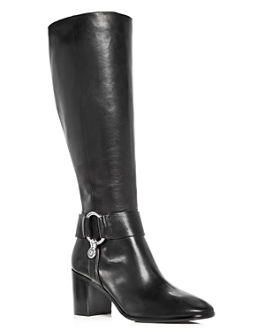 Frye Women's Julia Harness Leather Tall Boots