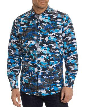 Robert Graham Blue Skies Limited Edition Button-Down Shirt 2746631