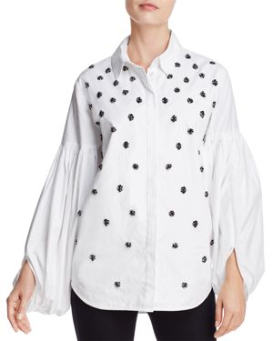 C/Meo Collective Assemble Crystal-Embellished Shirt