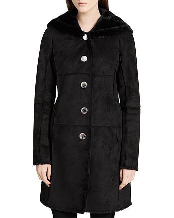 Calvin Klein - Faux Shearling Coat