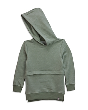 Sovereign Code Boys Textured French Terry Hoodie  Little Kid Big Kid