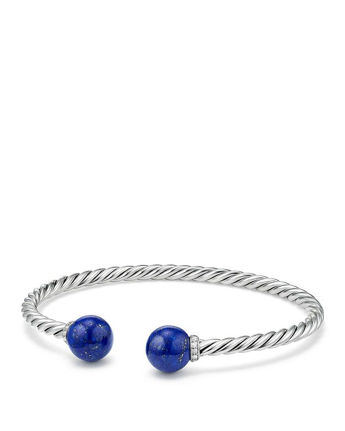 David Yurman - Solari Bracelet with Diamonds & Lapis Lazuli
