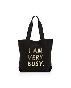 ban.do - Canvas Tote, I Am Very Busy