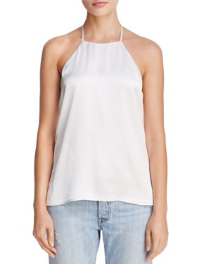 Cami Nyc Mara Strap-Detail Silk Top