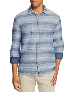 Johnnie-O Teton Stripe Long Sleeve Button-Down Shirt - Bloomingdale's_0