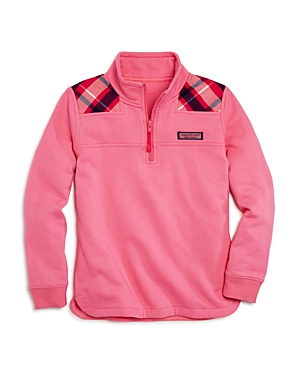 Vineyard Vines Girls' Plaid-Yoke Shep Shirt - Big Kid
