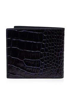 Smythson - Mara Printed Calf Leather Wallet