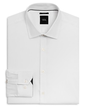 WRK - Solid Stretch Slim Fit Dress Shirt