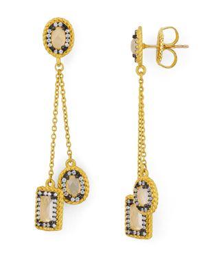 Freida Rothman Delicate Drop Earrings