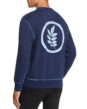 rag & bone - Indigo Leaf Crewneck Sweatshirt