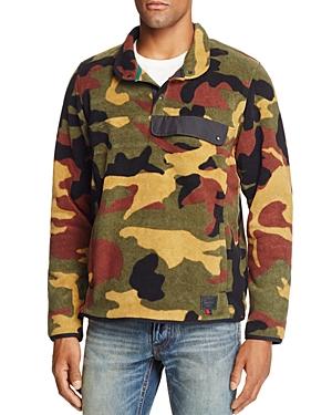 Herschel Supply Co. Camouflage Fleece Pullover