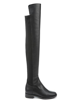 Via Spiga - Women's Varun Leather & Stretch Over-the-Knee Boots