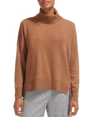 $Whistles Horizontal Ribbed-Knit Cashmere Turtleneck Sweater - Bloomingdale's