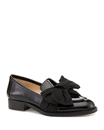 Botkier - Women's Violet Leather & Calf Hair Loafers