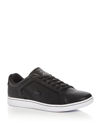 Lacoste - Men's Carnaby Evo Leather Lace Up Sneakers
