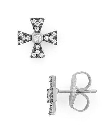 Freida Rothman - Thin Cross Earrings