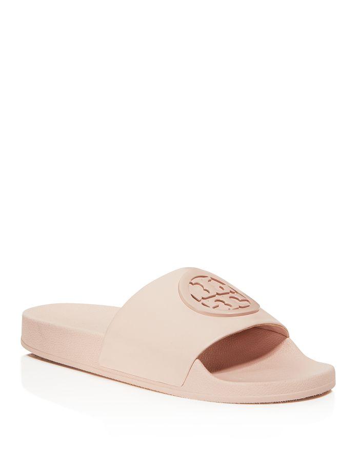 5638fa0debbb Tory Burch - Women s Lina Leather Pool Slide Sandals