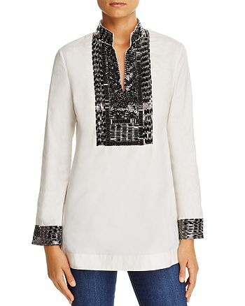 Tory Burch Embellished Tunic Bloomingdale S