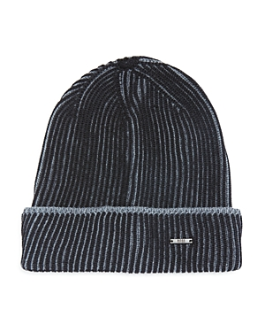 Hugo Boss Balerio Two-Color Knit Hat