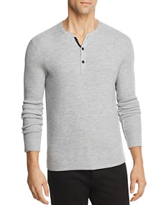 rag & bone Gregory Long Sleeve Henley - Bloomingdale's_0